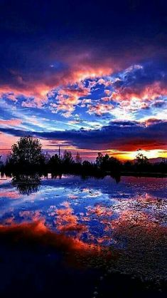 Awesome reflection of color.