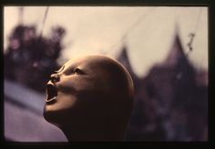 Heidi Wrage, Calling, 1991, hand painted print