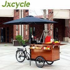 Source Europe Mobile Food Bike Coffee Bike Street Vending Cart For