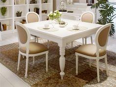 Mesa de madeira estilo provenzal TORCIGLIONE Coleção English Mood by Minacciolo