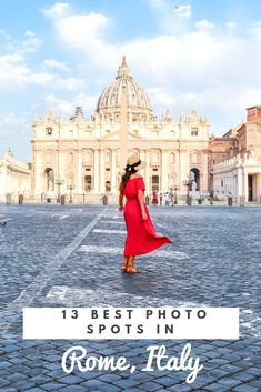 The Best Photo Spots in Rome You Will Not Want to Miss : Heading to Rome soon? Well do not miss this list of the 13 best photo spots in Rome, including a bonus on my top favorite restaurants! Italy Travel Tips, Rome Travel, Europe Travel Guide, Travel Guides, Travel Destinations, Greece Travel, Things To Do In Italy, Italy Vacation, Italy Trip