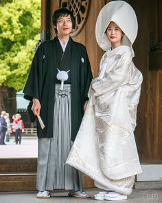 Japanese Wedding. For a traditional Japanese wedding, the bride often wears a pure white kimono for the formal ceremony, which symbolizes purity and maidenhood. After the ceremony the bride may then change into a red kimono to symbolize good luck.