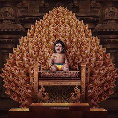 Image may contain: people sitting and indoor Ganesha Painting, Lord Shiva Painting, Baby Ganesha, Baby Krishna, Lord Murugan Wallpapers, Shiva Parvati Images, Krishna Images, Shiva Linga, Lord Shiva Hd Images