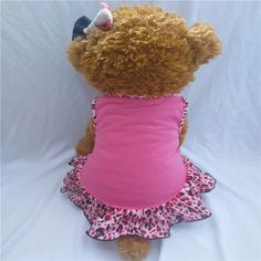 Puppy-Clothes Small Pet Dog Pet Small Dog Clothes for Girls Summer Love Hearts Dress Dog Clothes For Dogs Hot Selling