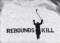 REBOUNDS KILL hockey T shirt ADULT sizes LIMITED EDITION SALE! ONLY $6.95 !!! #Gildan #BasicTee