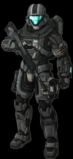 Spartan-IV. Halo Spartan Armor, Halo Armor, Odst Halo, Military Robot, Halo Series, Military Drawings, Combat Armor, Halo Game, Futuristic Armour
