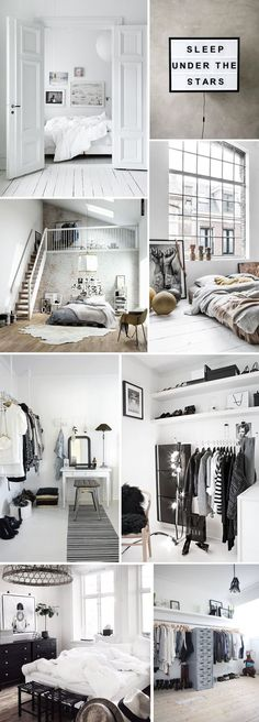 Scandinavian loft and home interior inspiration | Scandinavian Design Interior Living | Minimal #scandinavian #interior