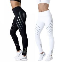 dfaf4fe30bf Details about Womens Workout Leggings Sports Yoga Gym Fitness Pants Jumpsuit  Athletic Clothes