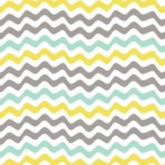 Camelot Cottons House Designer - Penelope - Waves in Aqua