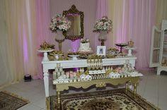 Festa princesa (10 anos) -  mesa principal