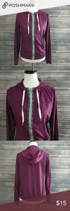 "Zine Lightweight Jacket Zumiez brand jacket. Great used condition.  Bust 18 1/2"" laying flat. Overall length 22 1/2"". Zine Clothing Jackets & Coats"