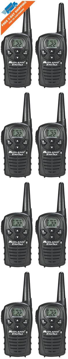 Walkie Talkies Two-Way Radios: Midland Long Range Security Two Way Radio Gmrs Walkie Talkie Set 18 Mile 2 Pack -> BUY IT NOW ONLY: $34.79 on eBay!