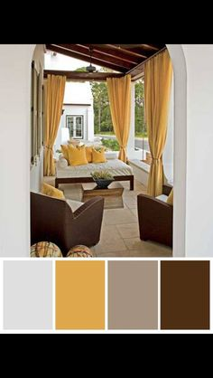 Outdoor Drapes   Design Photos, Ideas And Inspiration. Amazing Gallery Of  Interior Design And Decorating Ideas Of Outdoor Drapes In Decks/patios,  Pools, ...