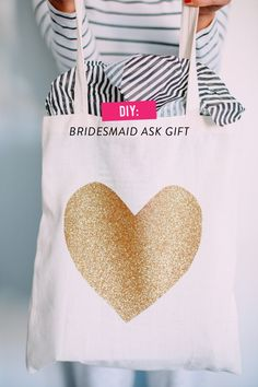 """""""Will You Be My Bridesmaid?"""" A DIY Gift bag for your favorite ladies. By Caitlin Moran on SMP diy-bridesmaid-ask-gift/ Kate Ann Photo Asking Bridesmaids, Bridesmaids And Groomsmen, Will You Be My Bridesmaid, Wedding Bridesmaids, Bridesmaid Gifts, Bridesmaid Ideas, How To Ask Your Bridesmaids, Fall Wedding, Diy Wedding"""