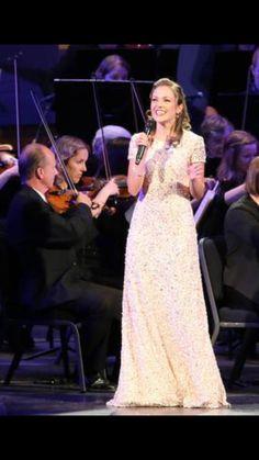 Beautiful Music all around...and a beautiful dress.