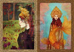 Russian Tales by silvertearbutterfly on DeviantArt