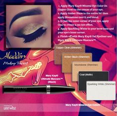 Love this look!  Check out Mary Kay's rich, gorgeous mineral eye shadows on my website www.marykay.com/lmontoya05