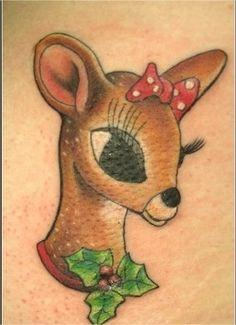 Christmas Themed Tattoos