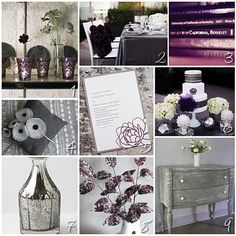 purple and gray