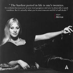 Well said, Helen Mirren