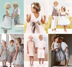 Daminhas e pajens de casamentos na praia - Constance Zahn | Casamentos