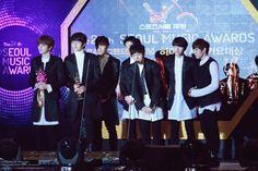 150122 #인피니트 – The 24th Seoul Music Awards ❤
