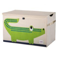 Coffre à jouets Crocodile