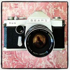 Vintage camera -- Sears TLS