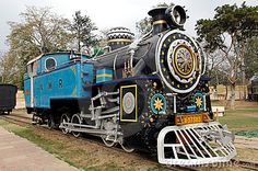 India : one of the oldest running locomotive in the world; this is a steam powered machine