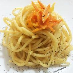"""Spaghetti di Gragnano con pomodorini gialli """"Campanella d'oro"""""""