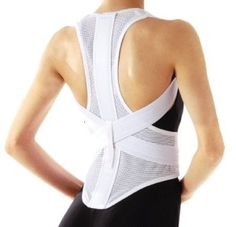 6182b47ea9d Back Corrector Ease Pain Kyphosis Supporter New Dancing Belt Round Back  Japan