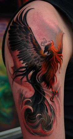 109 Best Phoenix Tattoos for Men Tätowierungen