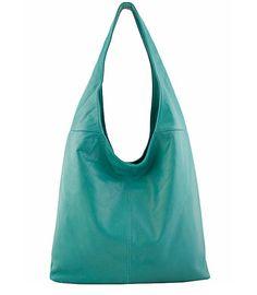 Jenna Hobo in turquoise