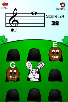 Learn to read music the fun way with Note Squish. This simple game will teach you the names of the notes on the treble, bass, and C-clef. Fun for kids just learning an instrument, adults brushing up their music skills, and everyone in between. Great for students of any instrument: piano, guitar, bass, violin, viola, cello, trumpet, saxophone, flute, clarinet, and more.