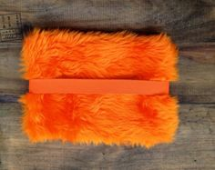 orange fur pencil case - Google Search