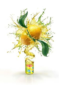 Lipton - Lemon on Behance