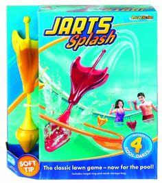 Jarts Splash Pool Game DIY version?? Pool Games, Yard Games, Darts Game, Ring Game, Pool Toys, Water Slides, Cool Pools, Summer Fun, Summer Time