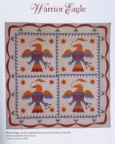 Quilt Like An Eagle: Eagle Thoughts