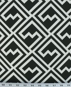 Shakes Black | Online Discount Drapery Fabrics and Upholstery Fabric Superstore!