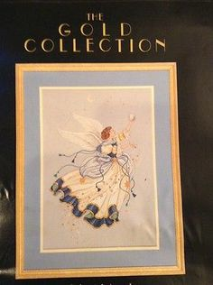 Dimesions Gold Collection Celestial Angel Counted Cross Stitch Laine Gordon 3755 | eBay