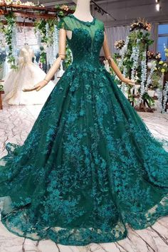New Style Cap Sleeves Tulle Ball Gown Prom Dresses With Lace Applique Tulle Balls, Tulle Ball Gown, Ball Gowns Prom, Princess Prom Dresses, Junior Bridesmaid Dresses, Wedding Dresses, Engagement Dresses, Gown Wedding, Robes Quinceanera