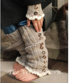 CROCHET PATTERN-Florence Warmer Set (Toddler, Child, and Adult sizes)