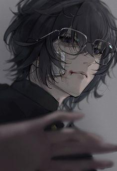 """缶のジュース on Twitter: """"大学デビュー前の陰キャ黒髪メガネぷわみがいたと仮定して… """" Cool Anime Guys, Handsome Anime Guys, Cute Anime Boy, Anime Art Girl, Manga Art, Dark Anime Guys, Pretty Anime Girl, Animes Yandere, Fanarts Anime"""