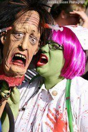 Me as a Zombie Nurse Zombie Walk 11'