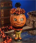 Rotten Pumpkin Clown | Paper Mache Halloween | Bethany Lowe