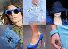 2013 SS trend ....blue accessories