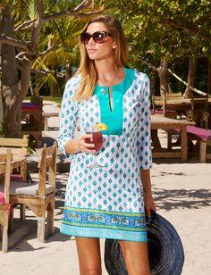 Cabana Life, Sardinia Sands Tunic Dress, 50+ UV Protection