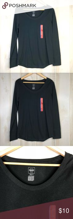 8b496dd6865ee5 Mossimo Supply Co Long Sleeve Tee Size L NWOT Excellent condition. Mossimo  Supply Co Long