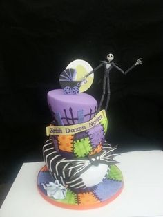 Nightmare Before Christmas Baby Shower Cake Nightmare Before Christmas Baby  Shower Cake This Is A Baby