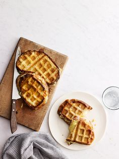 5 Outrageously Good Dishes You Can Make In A Waffle Iron - including this crazy gooey melty grilled cheese, and fresh-baked cookies in 90 seconds!